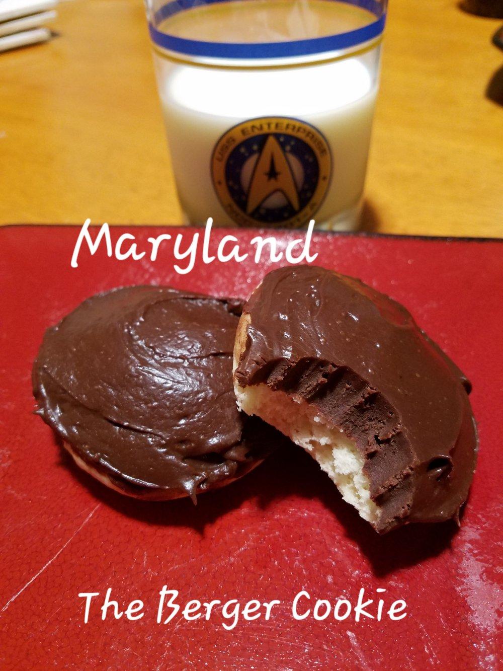 Berger Cookie Cake Recipe